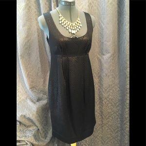 Michael Kors shiny  little black dress size 2
